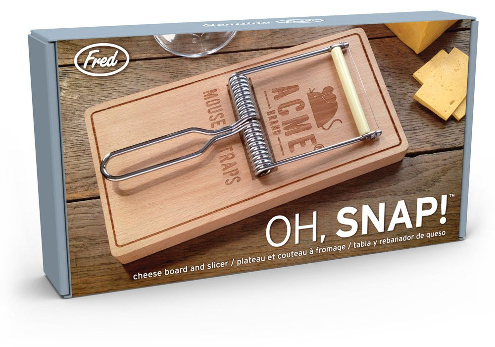 Fred Oh Snap Cheese Board House Warming Gift Idea