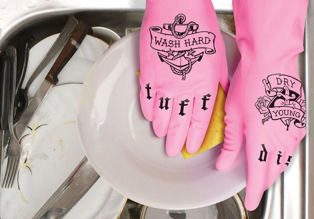 Fred Tuff Dish Gloves Funny Gift to Buy Her