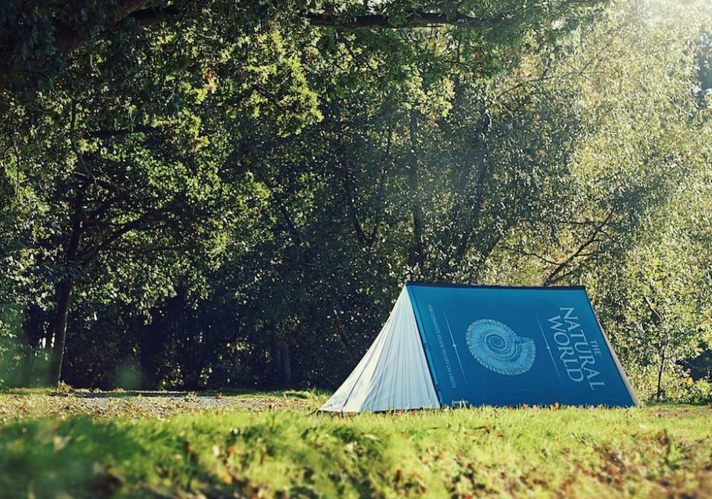 Fully Booked 2-Person Tent Cool Design for Book Lovers