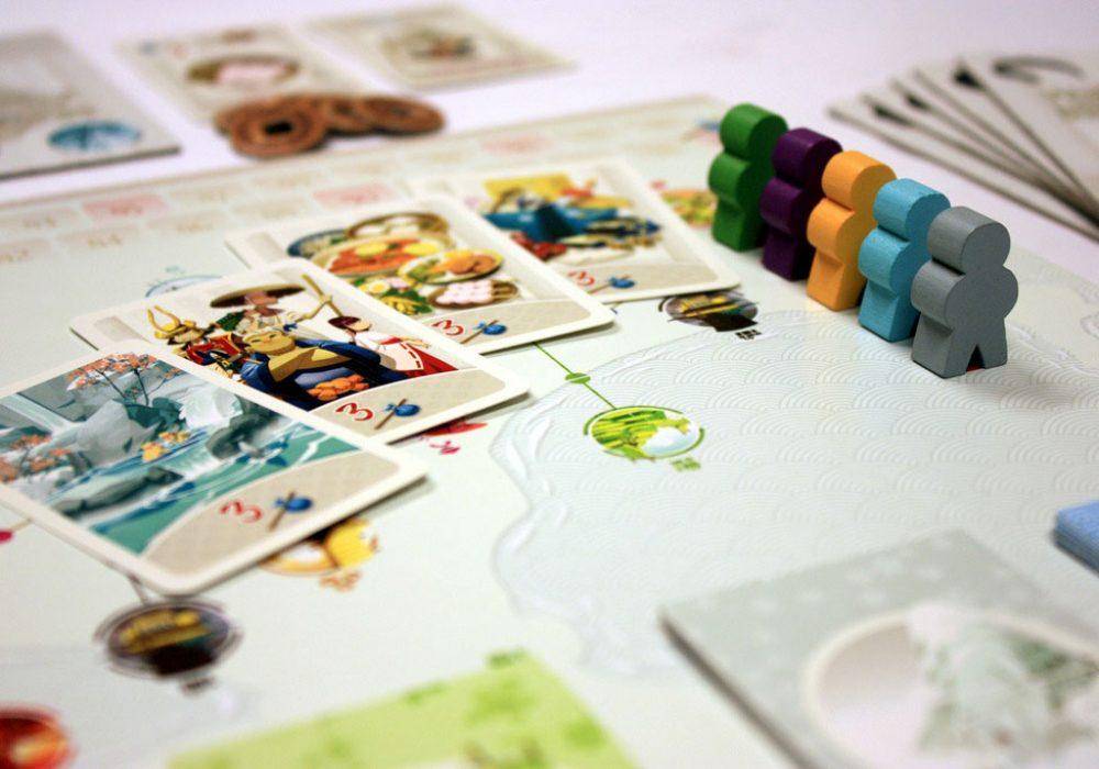 Fun Forge Tokaido Board Game with Nice Artwork