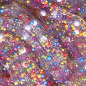 Fun at the Carnival Clear Colorful Floam Slime