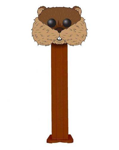 Funko Pop Brown Caddyshack Gopher Pez Illustation