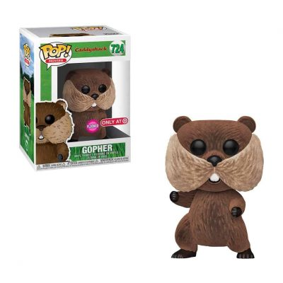 Funko Pop Caddyshack Gopher Collectible Art Toy Flocked Target Exclusive