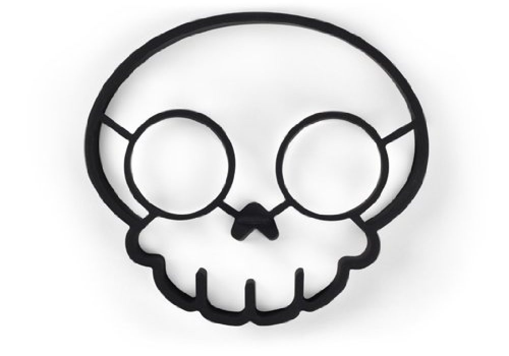 Funny Side Up Skull Shaped Mold 2