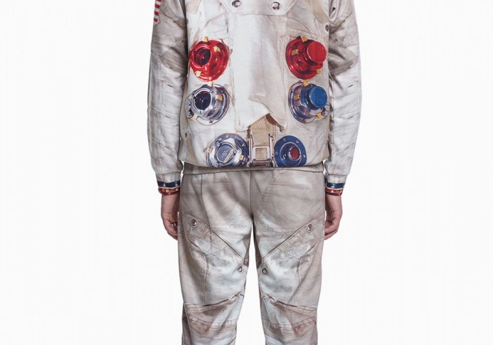 Fusion Apollo 11 Printed Suit Jogger Wear