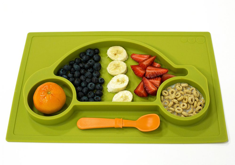 Galaxy Car Silicone Placemat & Tray Great for Proper Diet