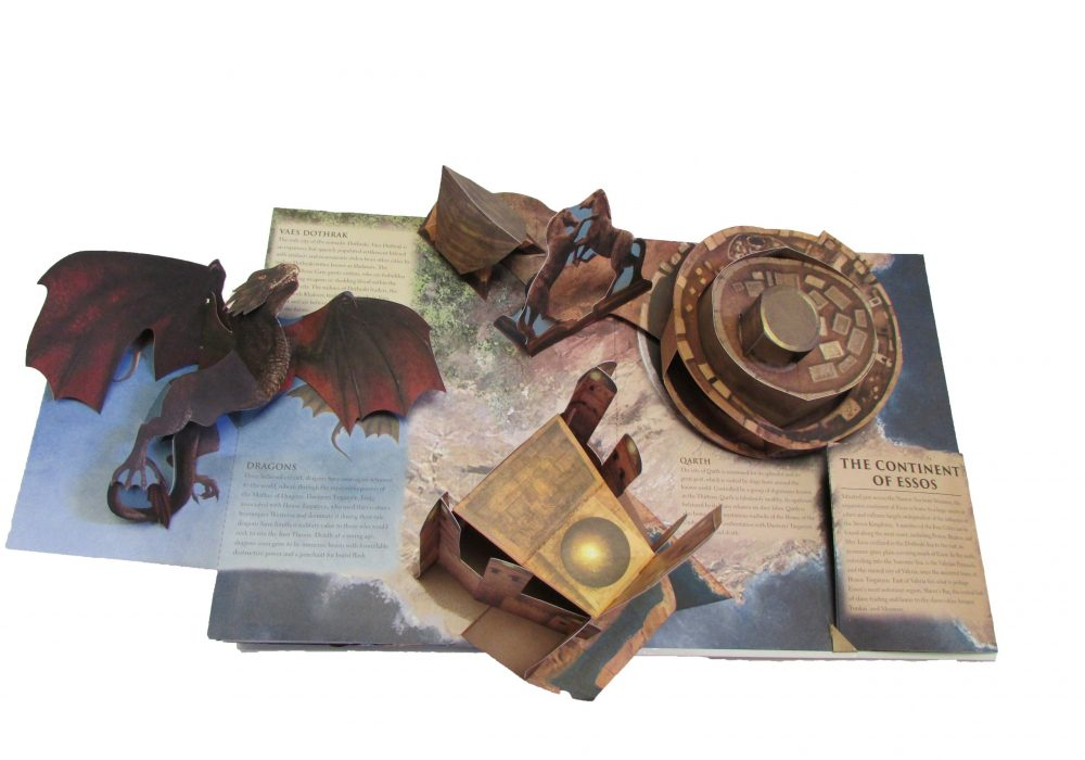 Game of Thrones A Pop-Up Guide to Westeros Continent of Essos Page