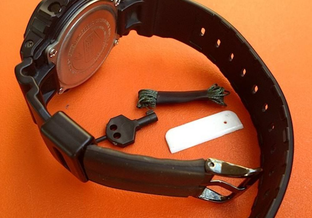 Gearward Anti-Kidnapping Watch Band James Bond Stuff