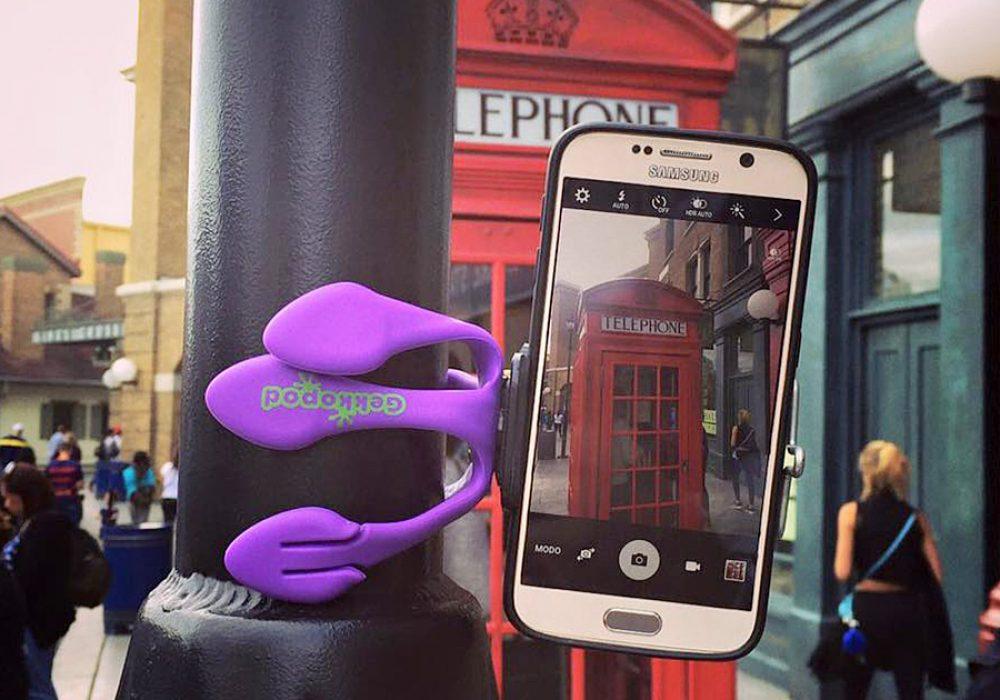 Gekkopod Smartphone Mount Photography