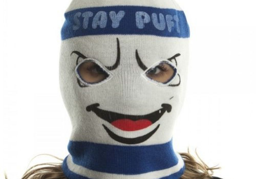 Ghostbusters Stay Puft Marshmallow Man Ski Mask Cool Winter Gear