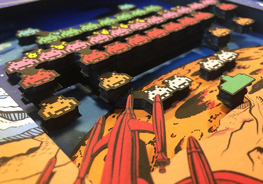 glitch-artwork-space-invaders-arcade-3d-shadow-box-home-display