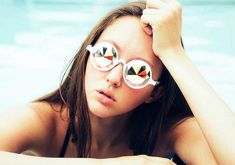 Glo FX Kaleidoscope Glasses Gift Idea for Raver