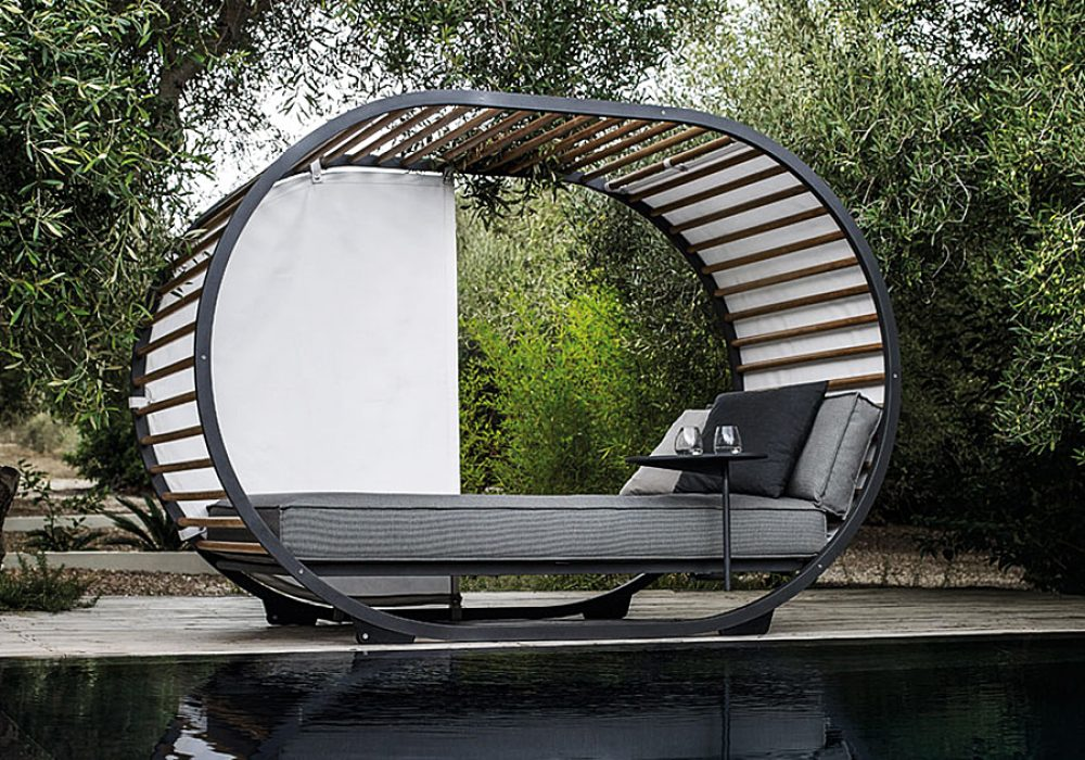 Gloster Cradle Outdoor Day Bed Furniture