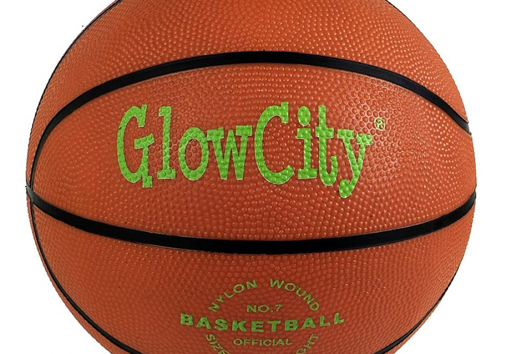 Glow City Light Up Basketball Cool Decoration