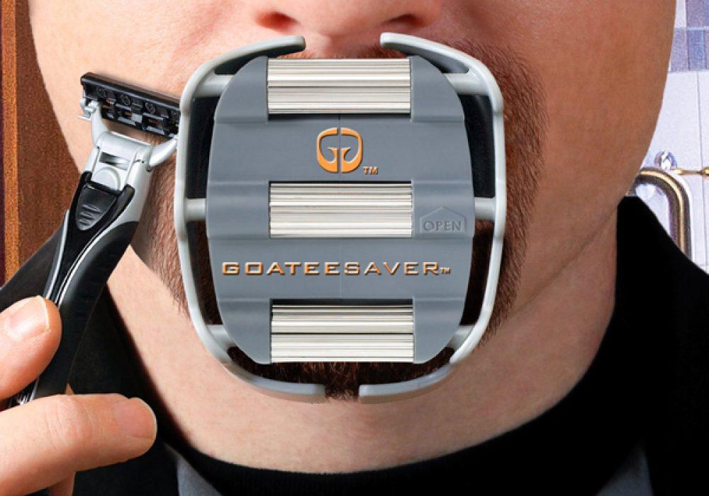 GoateeSaver Shaving Template Cool Gift for Dudes