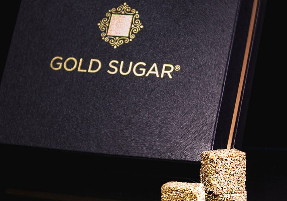 Gold Sugar Unique Gift Idea to Buy
