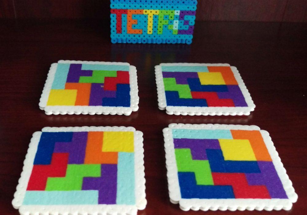 Good Golly Mister Tetris Themed Coasters Cool Novelty Item