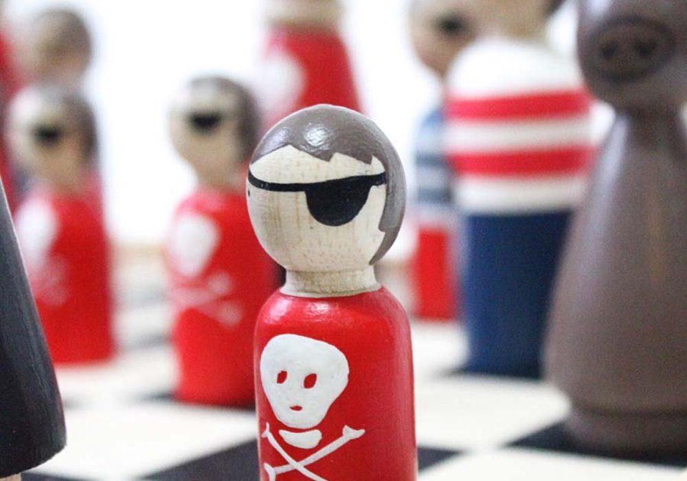 goosegrease-pirates-vs-ninjas-wooden-chess-set-unique-chess-set