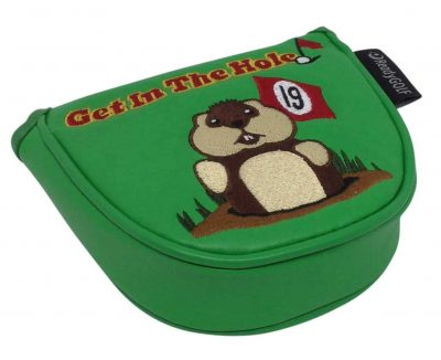 Green Caddyshack Dancing Gopher Mallet Putter Cover Get In The Hole