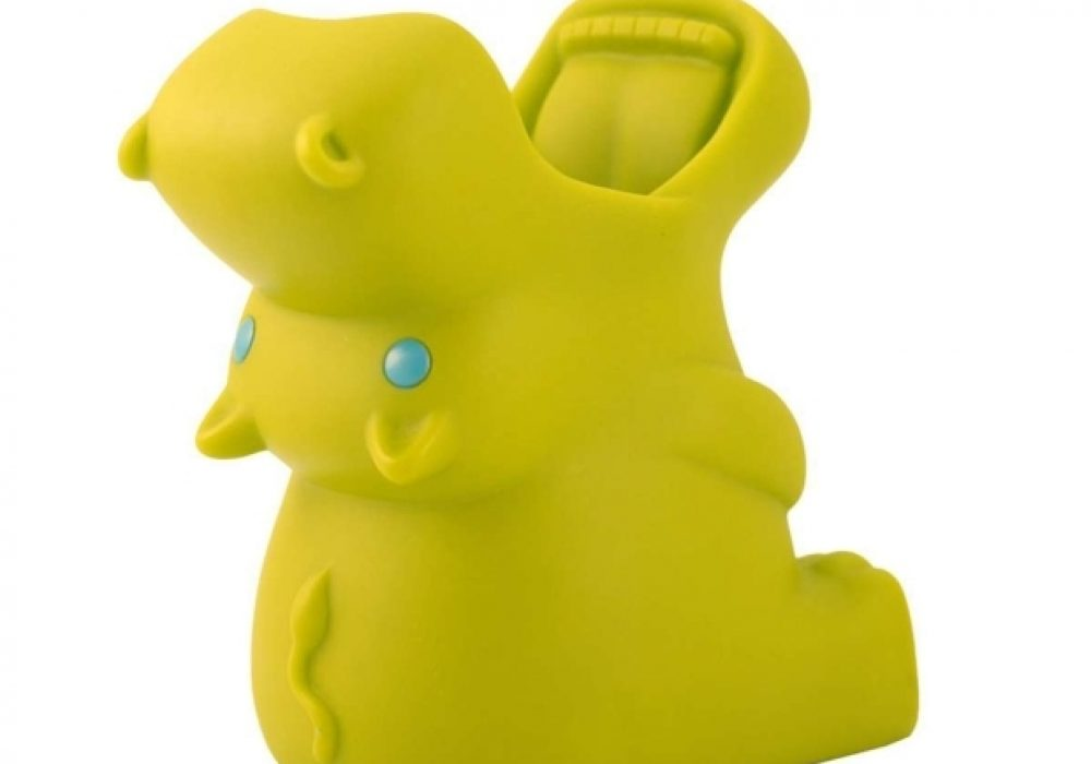 Green Guardian Hold All Hippo