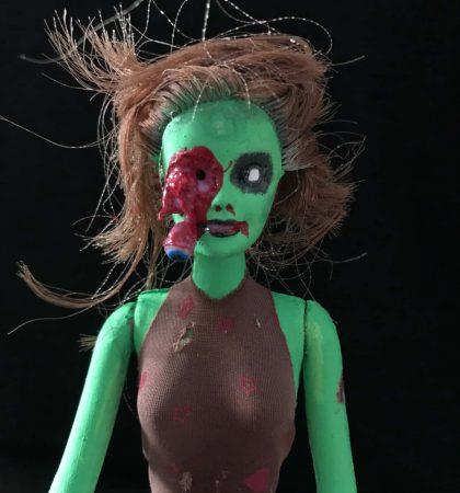 Green Skinned BarZombie