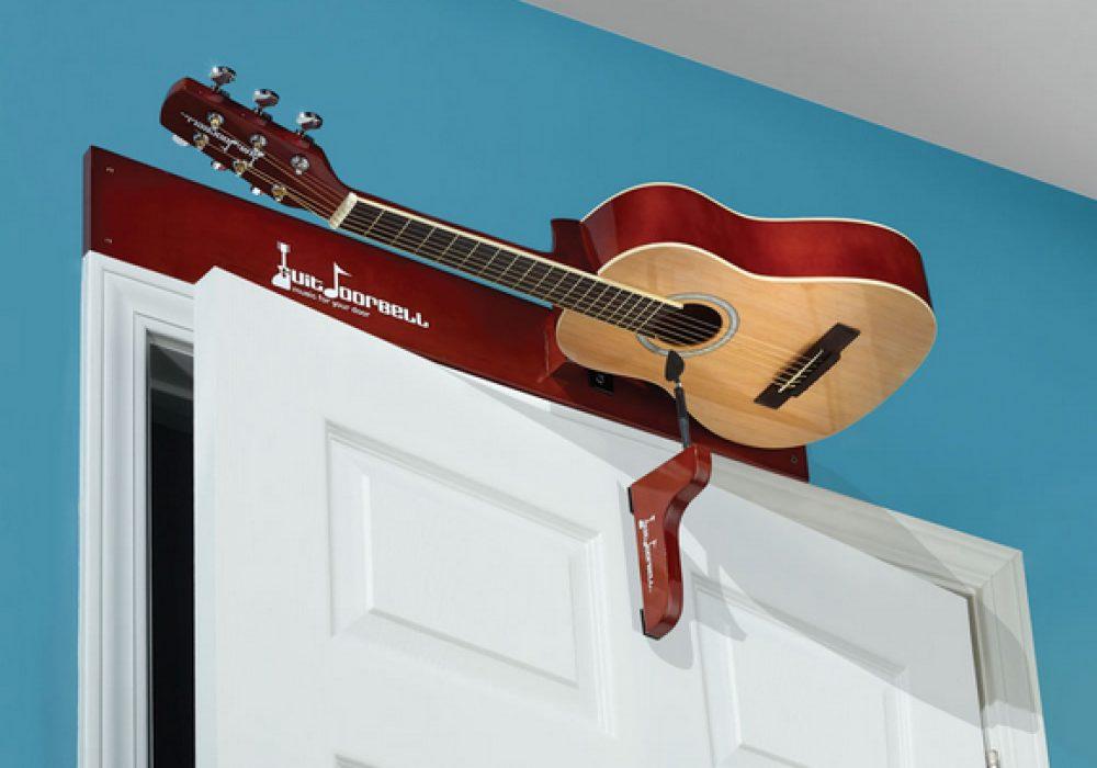 Guitdoorbell Fancy Guitar Doorbell College Room Decoration