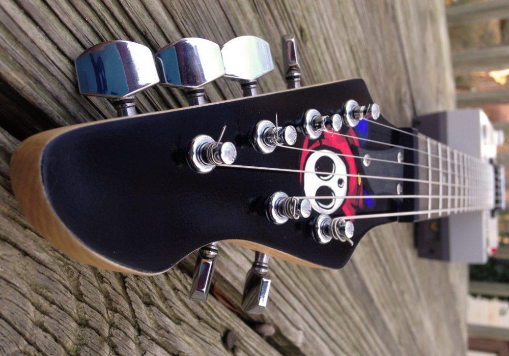 Guitendo Nintendo NES Electric Guitar Shy Guy Design