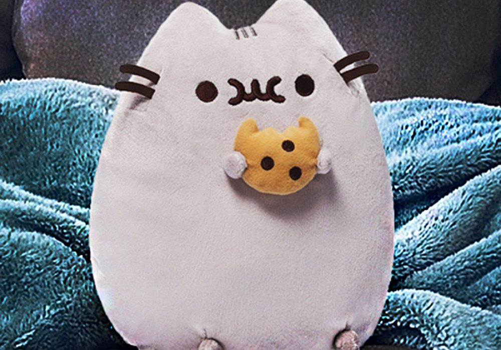 Gund Pusheen Plush with Cookie Toy