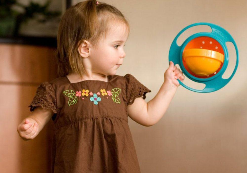 Gyro Bowl Spill Proof Gift Idea for Kids