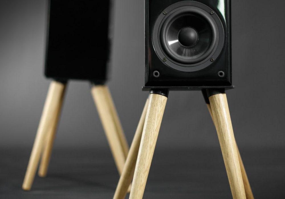 Habitables Audio Speaker Stand Unique Furniture Design
