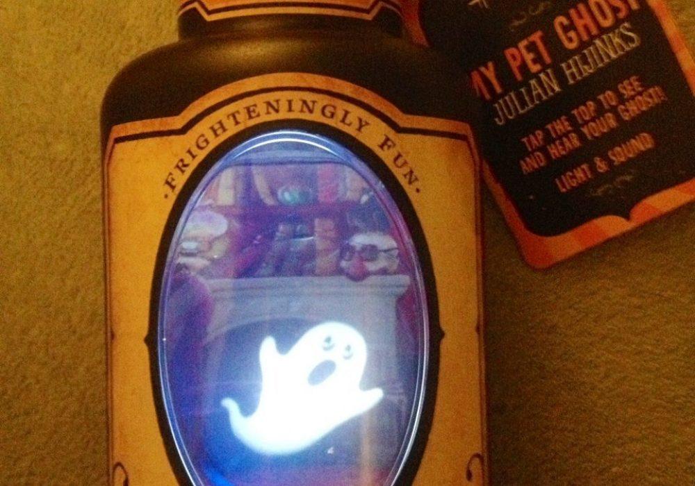 Hallmark My Pet Ghost Julian Hijinks Halloween