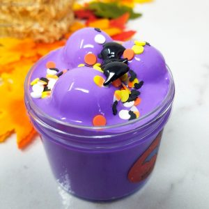 Halloween Vampire Thick and Glossy Purple Slime