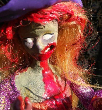 Halloween Witch Costume Z Barbie