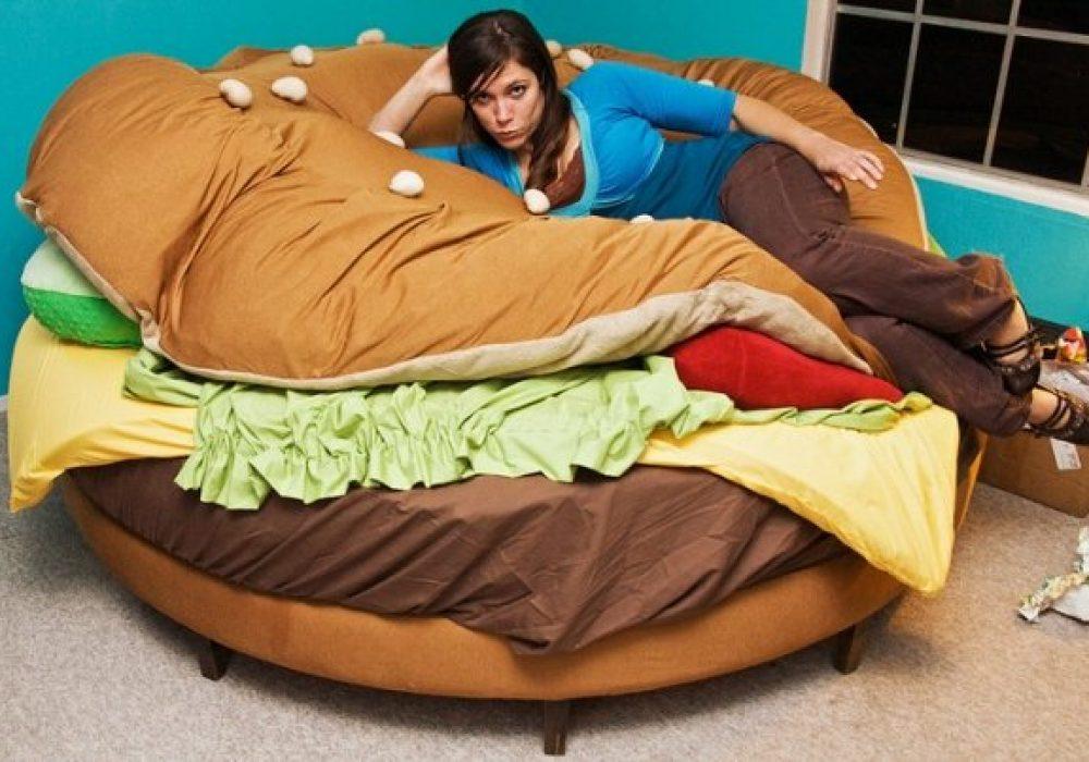 Hamburger Bed Cute Furniture
