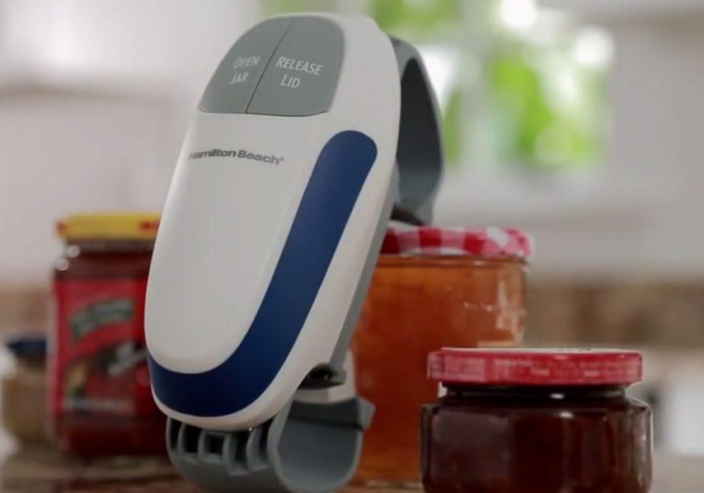 Hamilton Beach Open Ease Automatic Jar Opener Cool Kitchen Gadget
