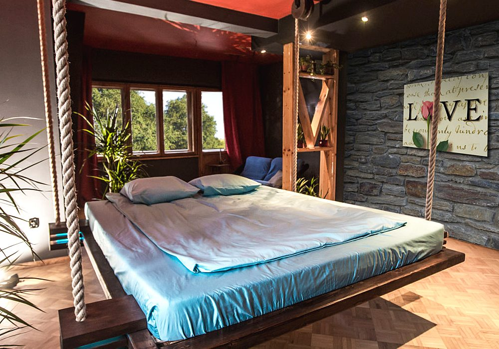 Hanging Beds Modern Hanging Bed Cool and Comfortable Mattress