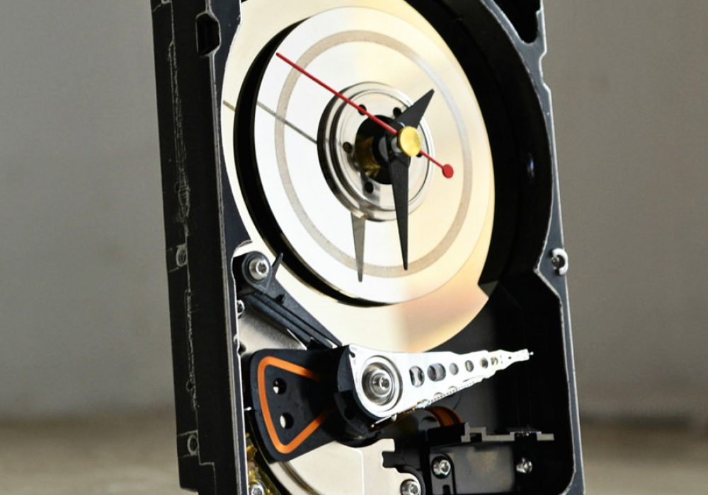 Hard Resols Hard Drive Clock Electronic Gift
