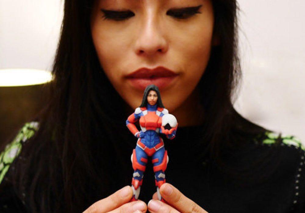Heromods 3D Printed Custom Superhero Buy for Geek Girlfriend