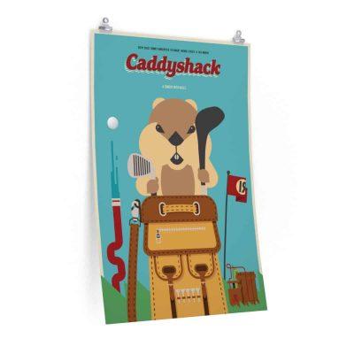 Hipster Caddyshack Alternative Movie Poster