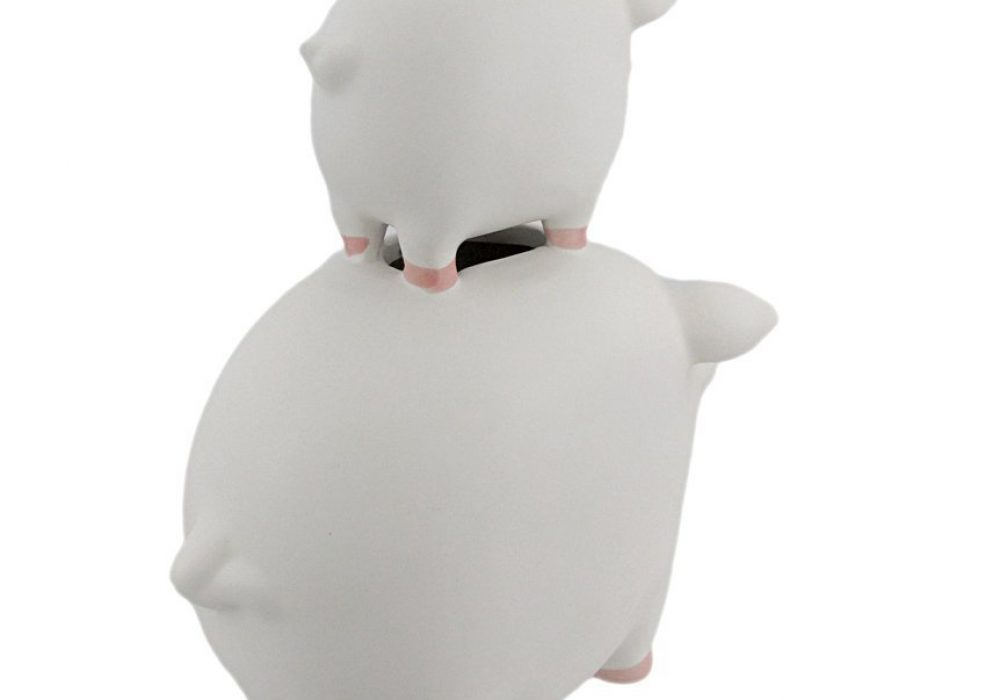 His Money Her Money Ceramic Piggy Bank Rear View