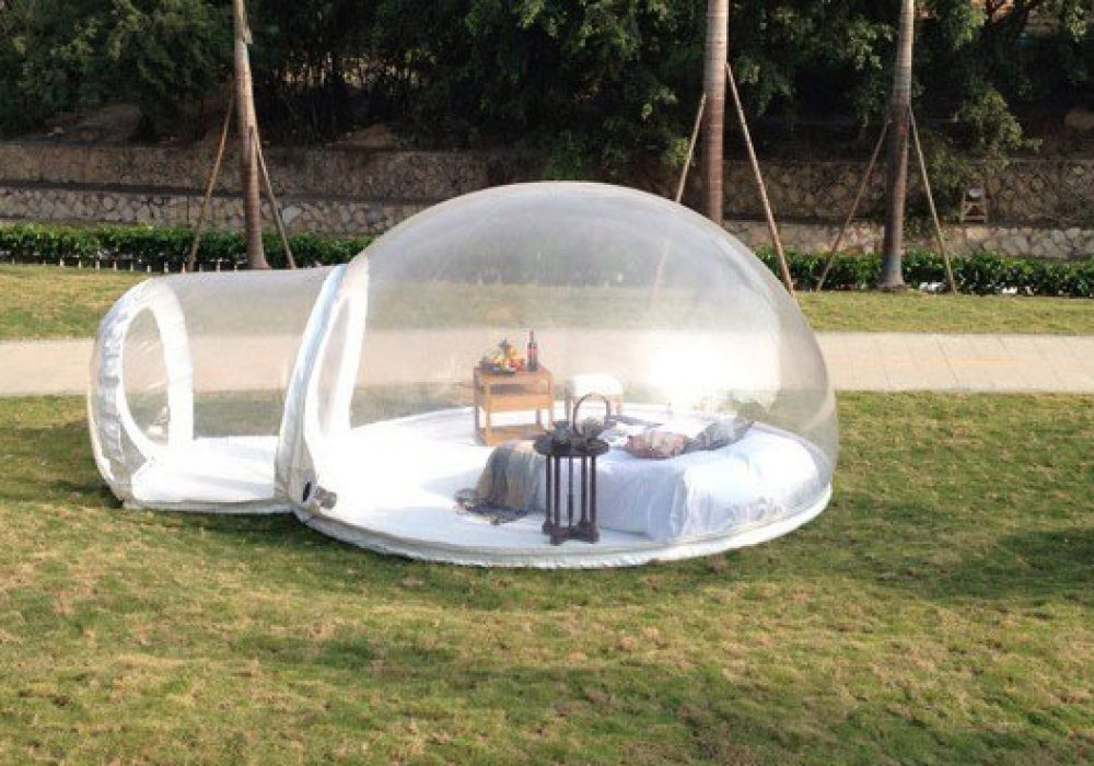 Holleyweb Inflatable Bubble Tent House Dome Incredible Things