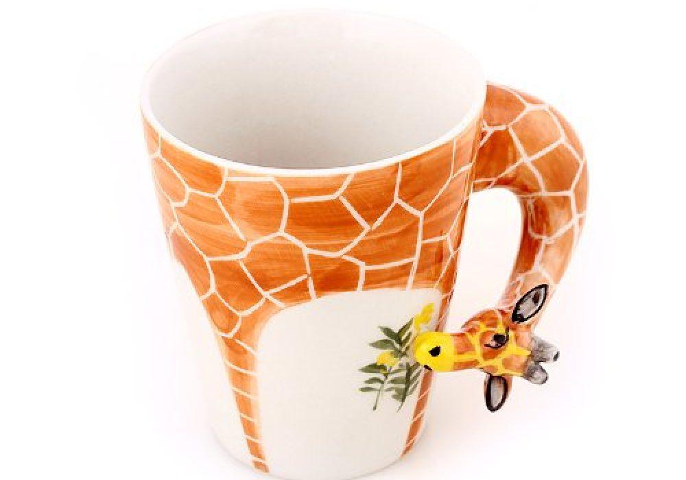 Homee Hand Painted Giraffe Mug Buy 3D Animal
