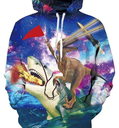 Men Hoodies & Sweatshirts Velociraptor