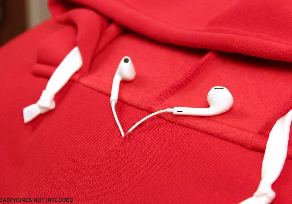 HoodiePillow Hooded Pillowcase Earphones