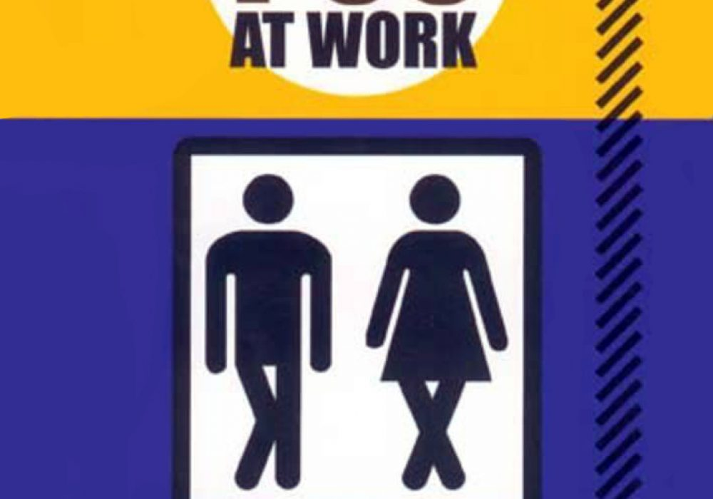 How to Poo at Work Cover Funny Gift Book