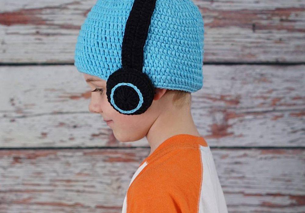 Hug A Bug Kids Crocheted Headphone Hat Trendy