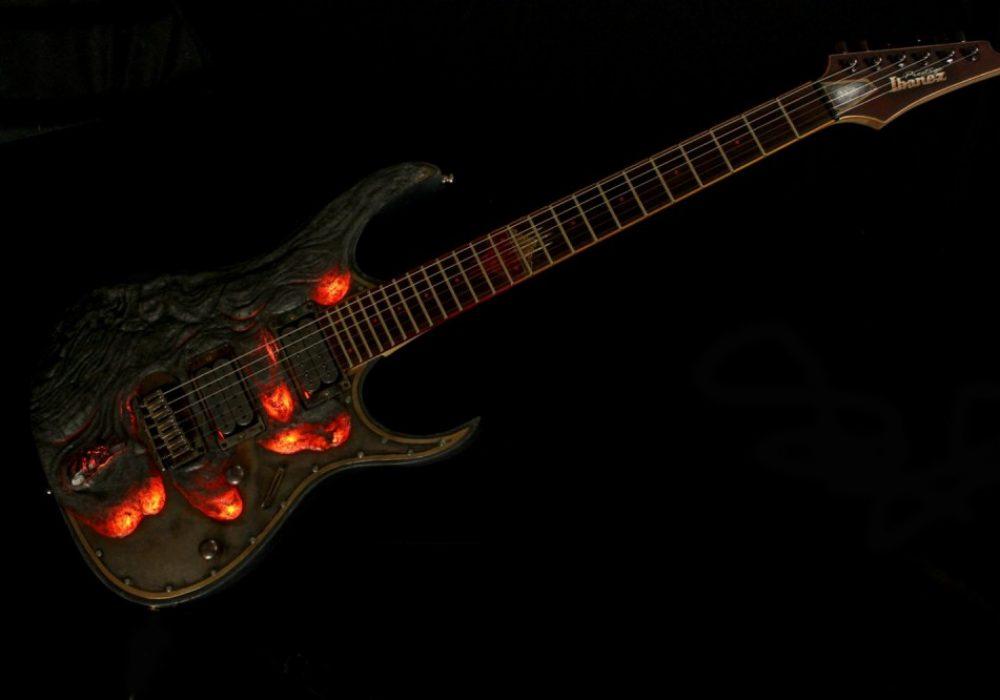 Hutchinson Guitars Molten Diabolic Guitar Bad Ass Musical Instrument to Buy