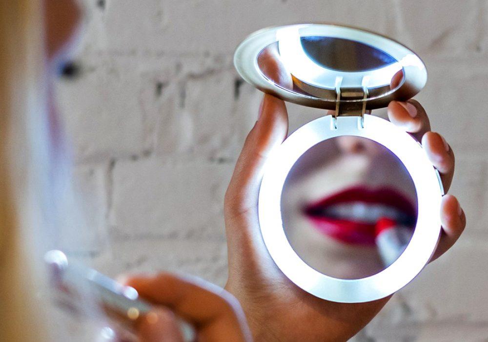 Hyper Pearl Compact Mirror Cosmetics