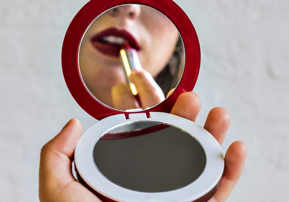 Hyper Pearl Compact Mirror Rechargeable