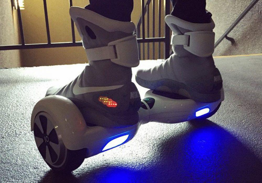 IO Hawk Back to th Future Personal Mobility Device